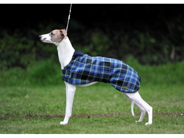 Whippet Double Printed Fleece coat