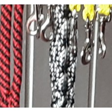 NYLON braided WALKING leads ( TRIGGER CLIP)