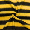 Black/Yellow Stripe Fleece